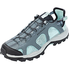 Salomon Techamphibian 3 Shoes Dame stormy weather/eggshell blue/black